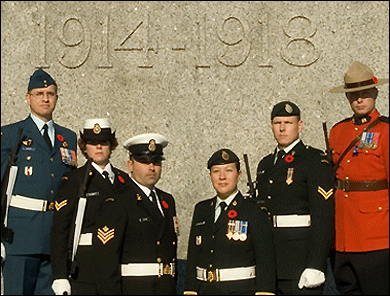 2007 National War Memorial Sentries