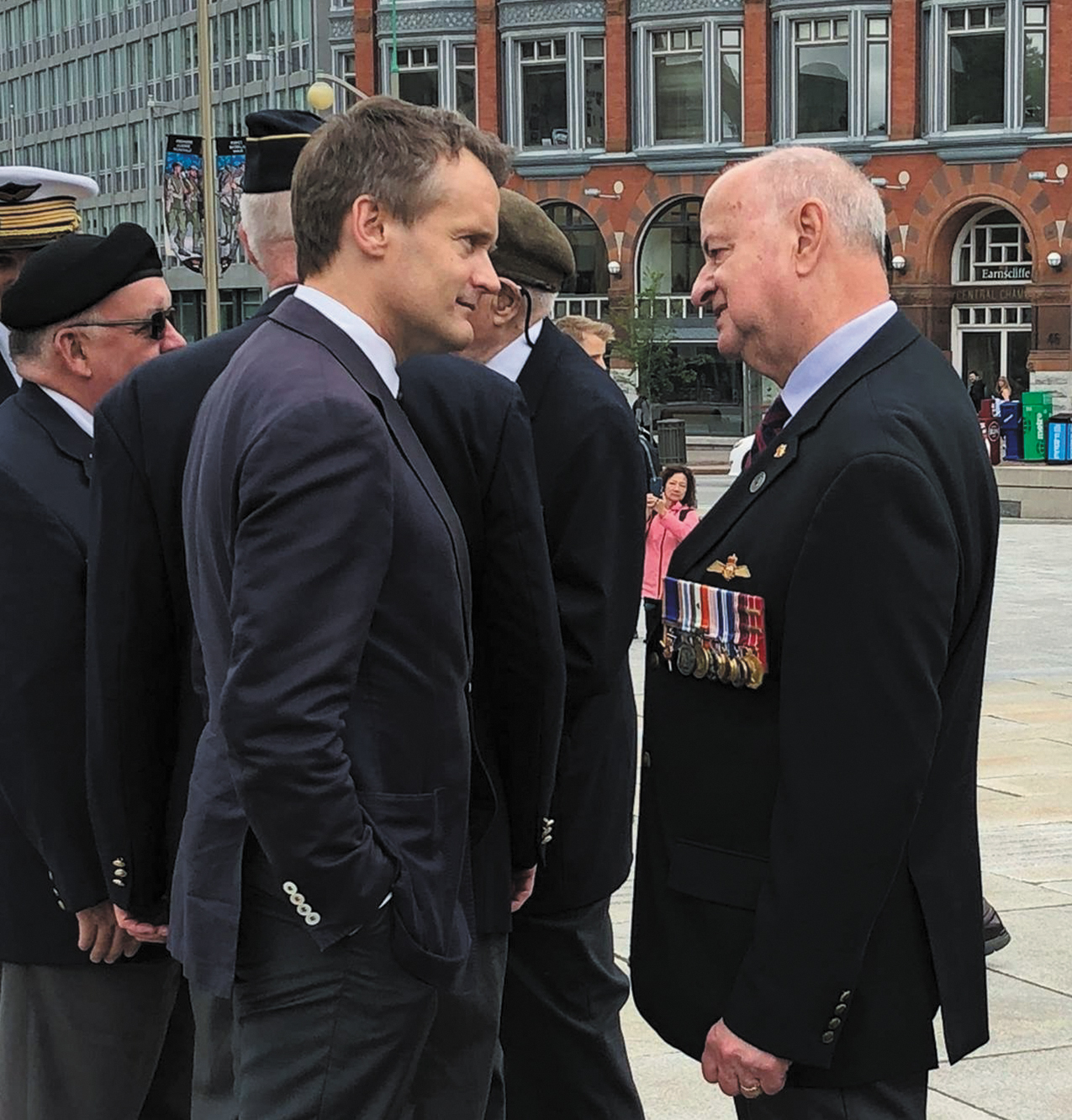 Veterans Ombudsman, Guy Parent, with Minister Seamus O'Regan