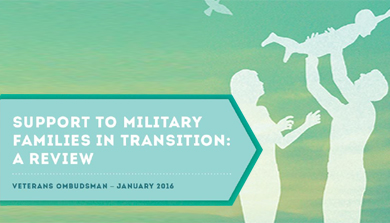 Support to Military Families in Transition: A Review